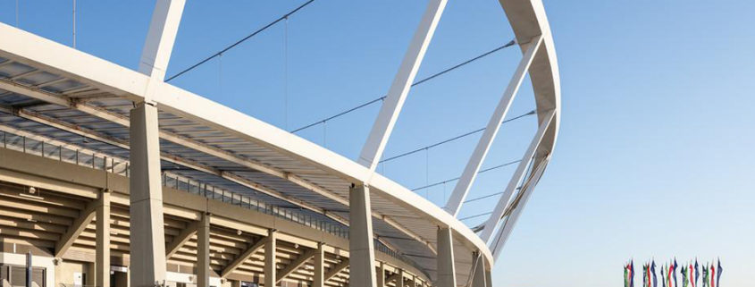 Roof with Tensile Cables